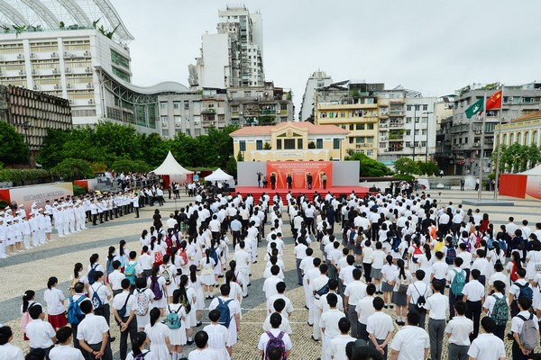 Macau Acting Chief Executive urges local youths to learn from history