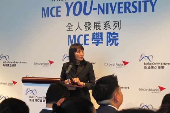 Macau casino operator Melco launches bachelor's degree course for staff