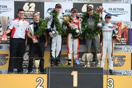 Swedish Felix Rosenqvist wins F3 Macau Grand Prix