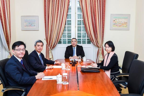 "New customs chief of Macau ""ready to tackle any challenge"""