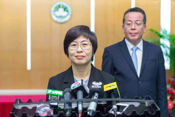 Sonia Chan says MP tendering process in Macau will be reviewed