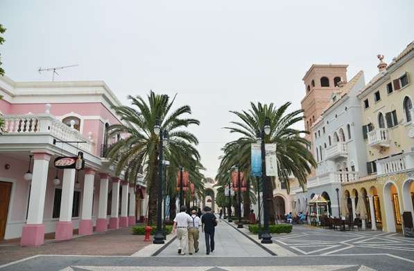 Chow upbeat about Macau Fisherman's Wharf immigration post