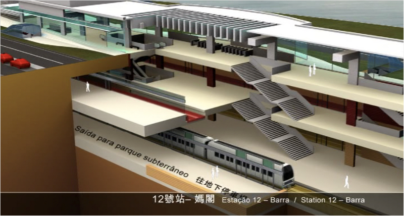 Government plans to extend Macau Light Rapid Transit to Hengqin island, in Zhuhai