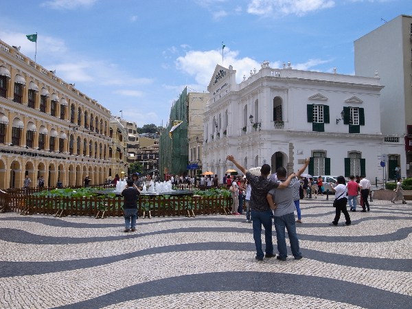 Record 2.55 million visit Macau in July