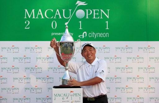 Taiwan's Chan Yih-shin wins Macau Open by 3 shots