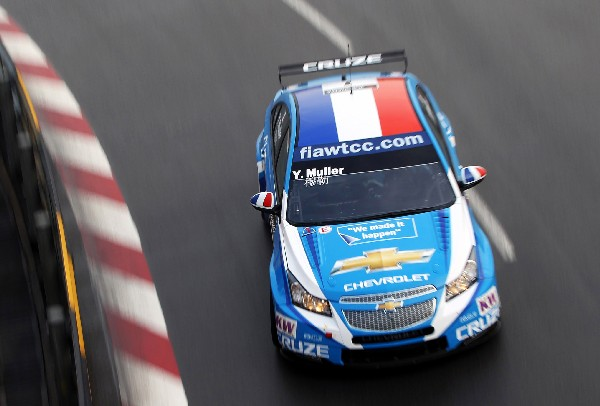 Rob Huff Wins Race as Muller Claims FIA World Touring Car Championship Title