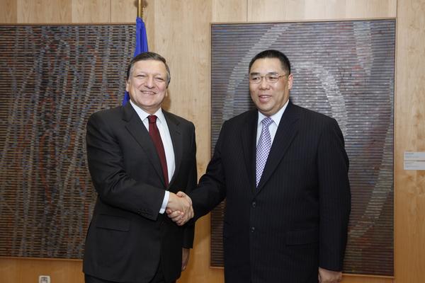Macau's Chief Executive meets EU President