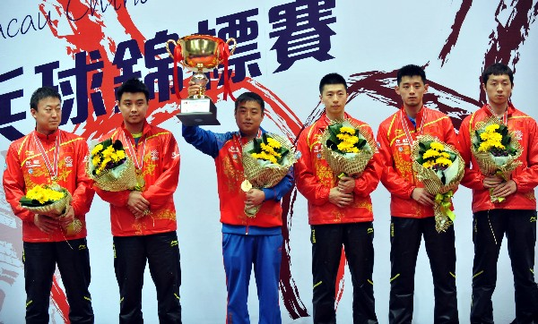 China won the 20th Asia Championships Men Team Finals held in Macau