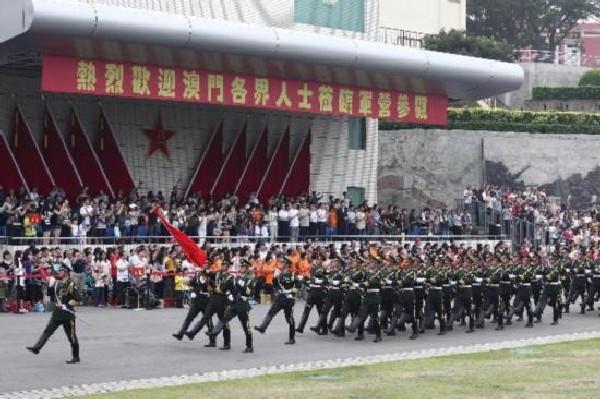 Government grants PLA garrison more land in Macau
