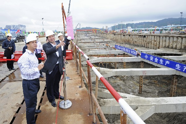 Hengqin campus enters final stage of construction