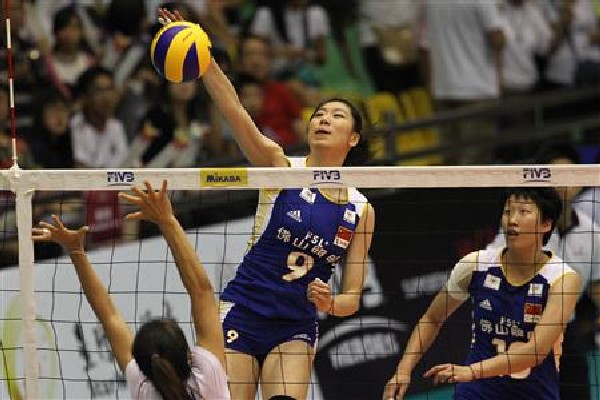 China wins Group A pool of the 2012 FIVB Volleyball Grand Prix in Macau