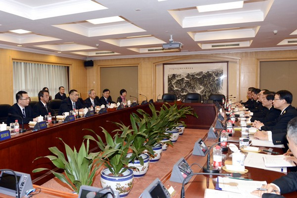 Chui holds 'very positive' meetings in Beijing