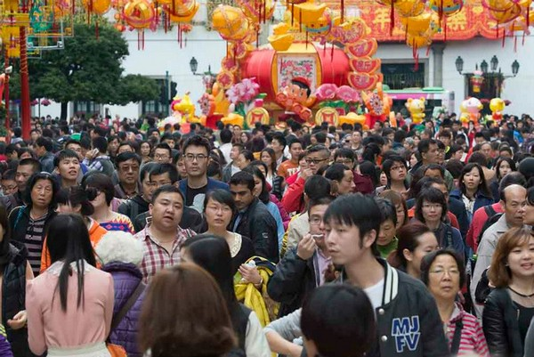 Chinese New Year visitor arrivals rise 13.6 pct