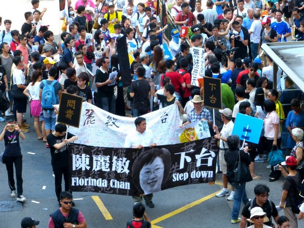 Chui says he respects citizens' right to protest