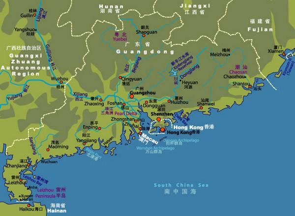 Guangdong studies a free trade zone with Hong Kong and Macau
