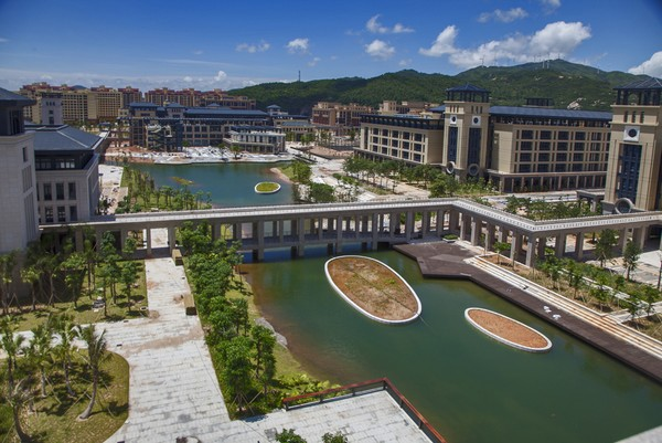 Trespassers at the new University of Macau  to be charged
