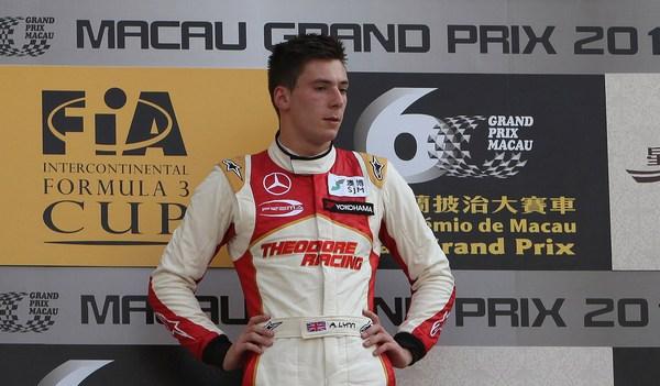 Lynn triumphs in tense Formula 3 Macau Grand Prix (SPORTS)