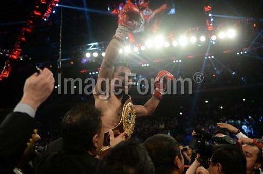 Manny Pacquiao defeated Brandon Rios em Macau