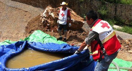Red Cross staff say quake victims still need help