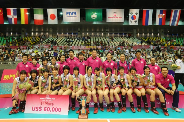 Japan won Pool I  of FIVB Volleyball World Grand Prix with three victories