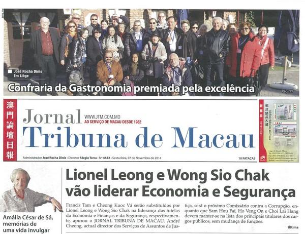 Businessman Leonel Liong new Secretary for Economy and Finance, Tribuna newspaper reveal
