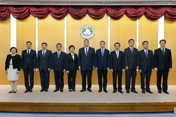 Chui presents his new team, pledges new dynamism