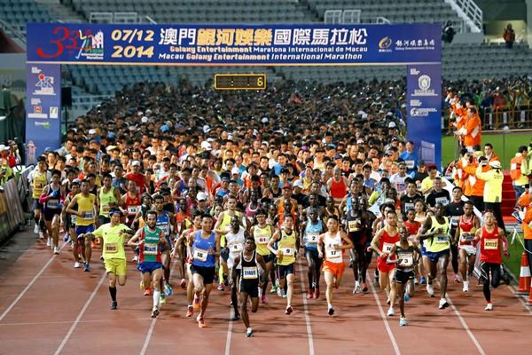 Macau marathon dominated by Kenyan runners