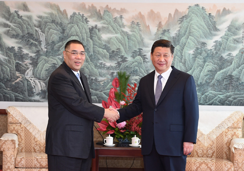 President Xi says Beijing pins high hopes on new Macau government