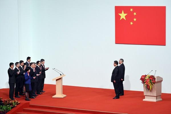 Macau's new govt team sworn in