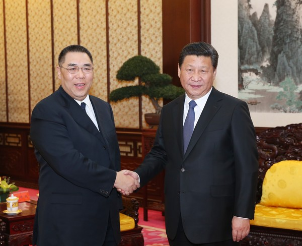 Xi meeting Chui praises Macau's achievements