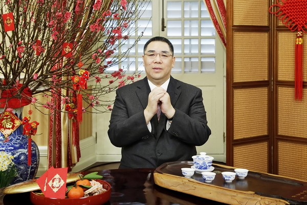 Chinese New Year messages from Beijing and Macau