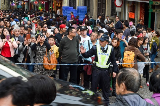Macau's tourism carrying capacity was 32.6-33.7 million in 2014