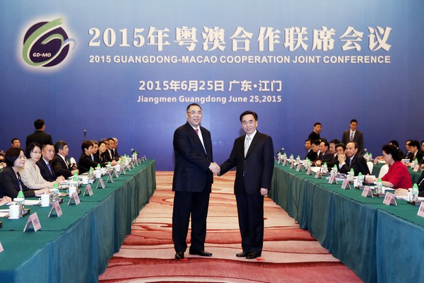 Macau and Guangdong governments sign 8 co-operation agreements