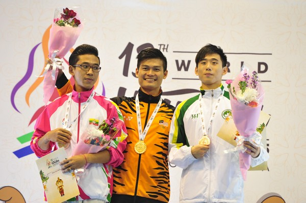 Macau wins medals at the Wushu World Championship