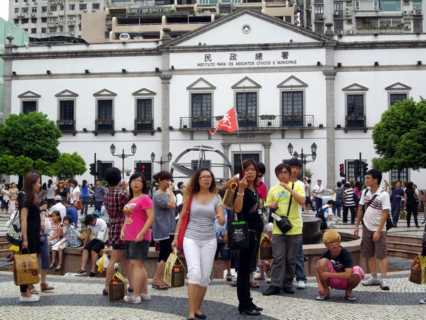 14.2 million visit Macau in Jan-June, up 4.2 pct