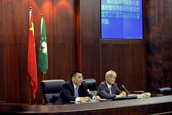 Macau government to strenght CCAC recommendations