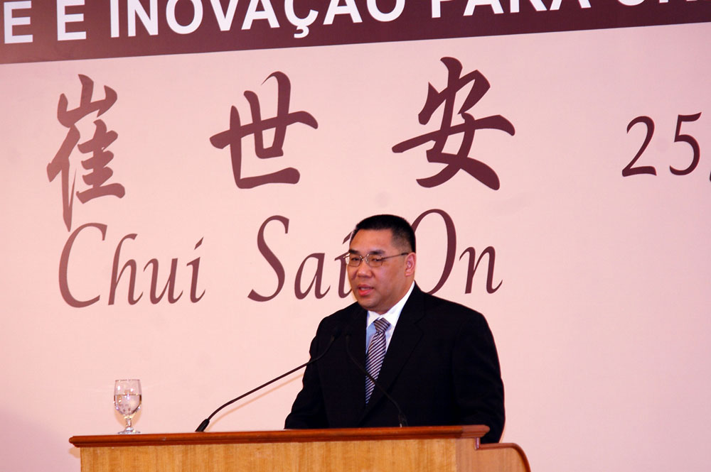 Democratisation of political system to be 'gradually promoted' said next Macau's chief executive