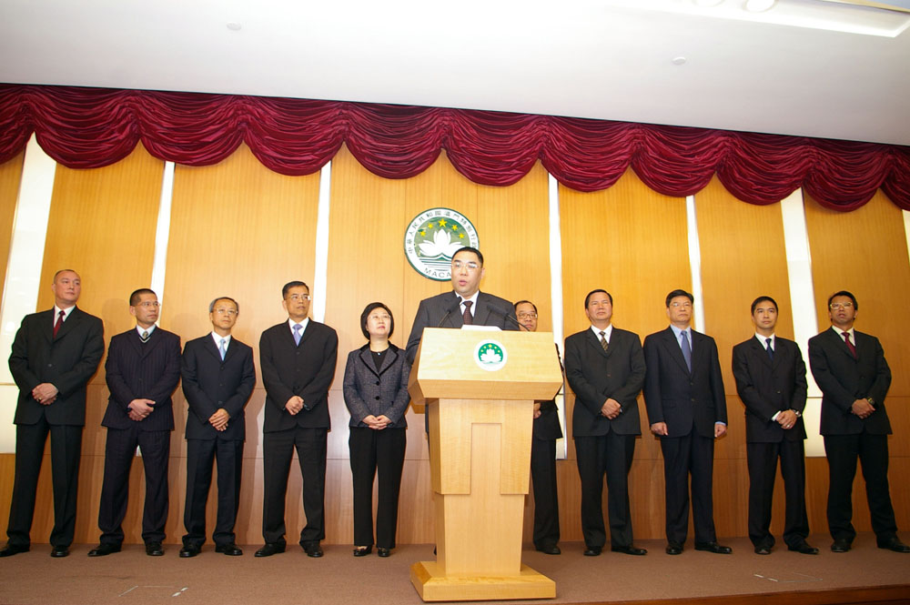 Chui says top officials share same values and commitment