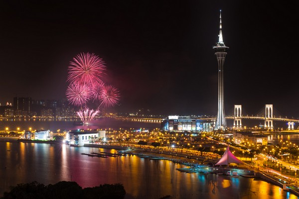 France won the 25th Macau International Fireworks contest