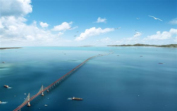 China's State Council approves feasibility report of Hong Kong-Zhuhai-Macao Bridge