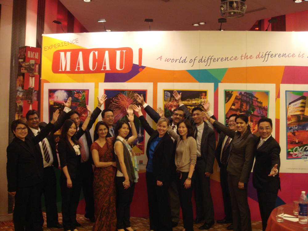 Macau promotes tourism in India