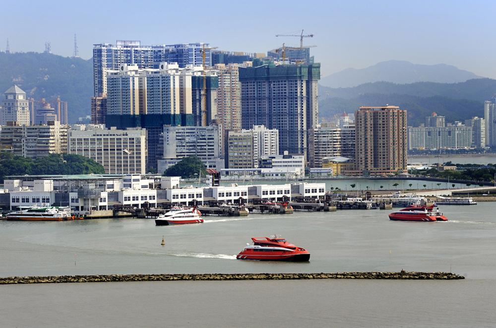 Macau to open new ferry terminal in 2013 in Taipa Island