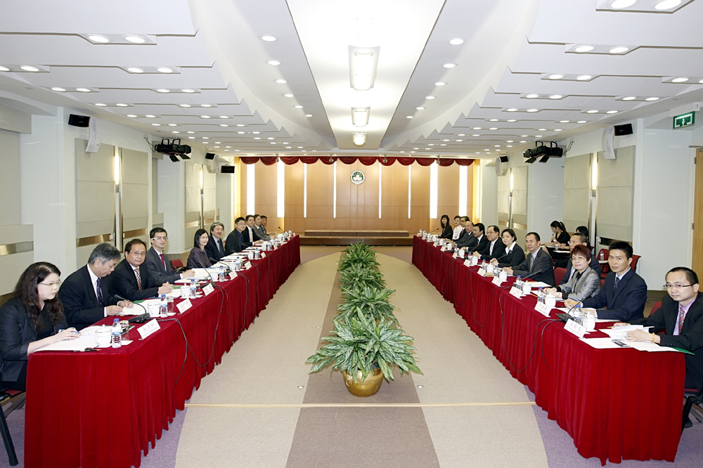 Third Hong Kong Macau Co-operation high level meeting