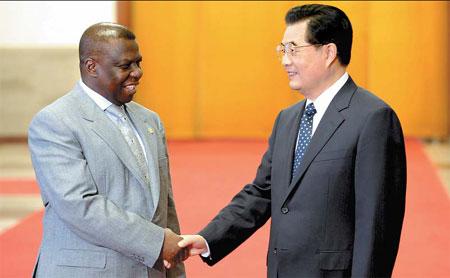 President of Guinea Bissau visits Macau