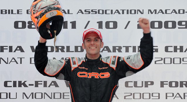 French driver Arnaud Kozlinski won Super KF World Championship