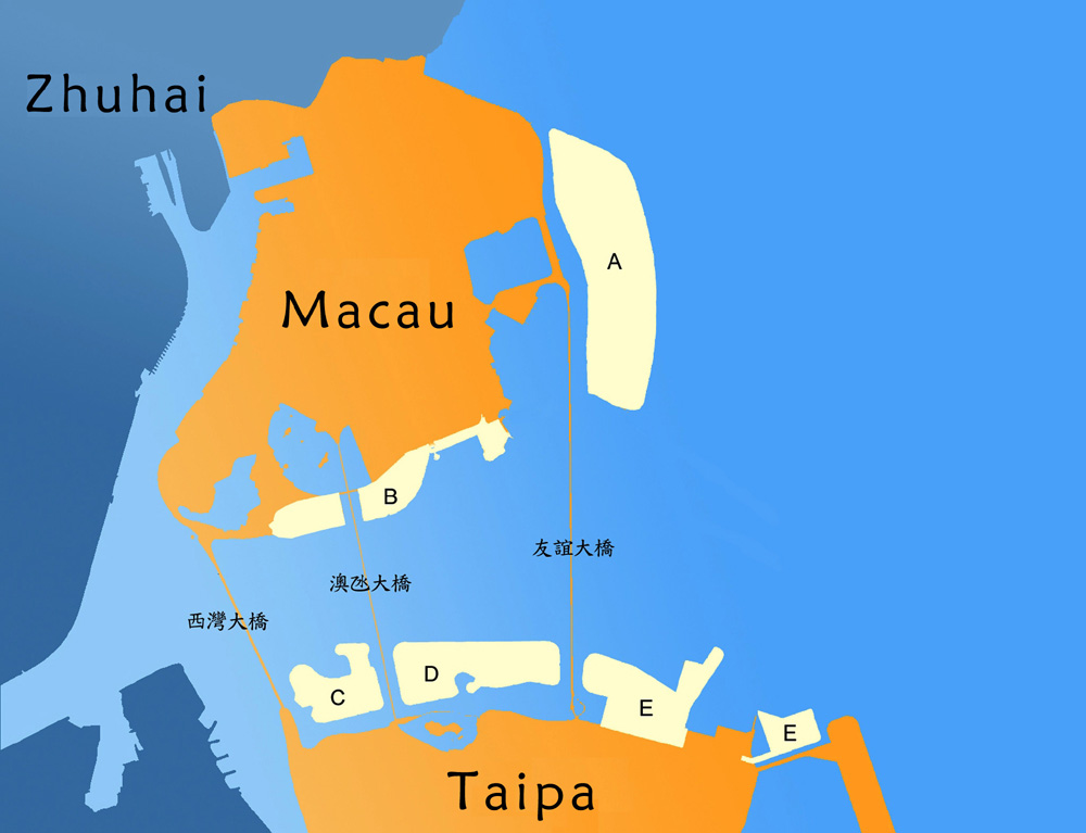 Half of future reclaimed land in Macau earmarked for public facilities
