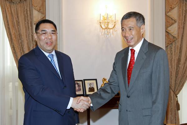Chui sees Singapore as 'guiding example' to Macau