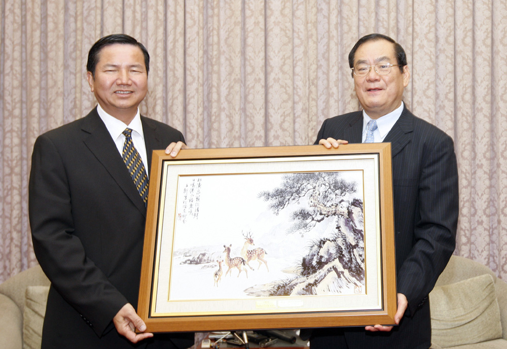 Senior official of the Macau government starts official visit to Taiwan