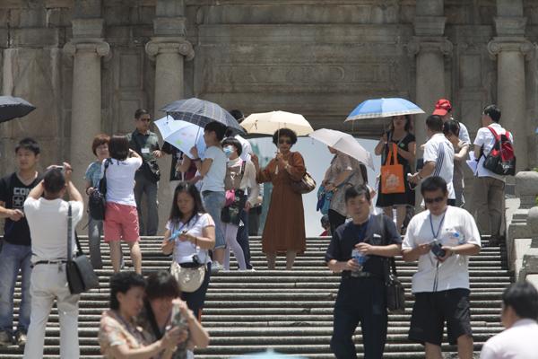 Macau visitors arrivals rise 5.2 percent in the first quarter