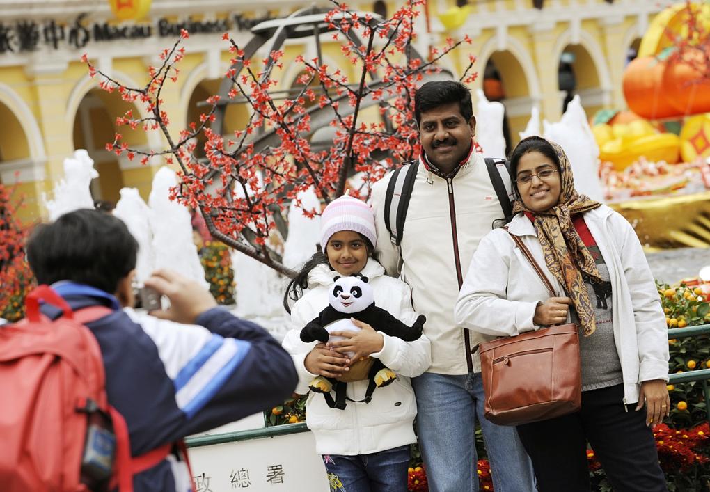 Around 17.6 million tourists visit Macau in first seven months of 2008